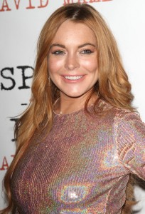 """Lindsay Lohan - """"Speed the Plow"""" UK Press Night Afterparty - Arrivals - National Liberal Club, One Whitehall Place - London, UK  Photo copyright by Landmark / PR Photos"""