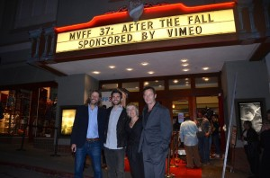 "Saar Klein, Wes Bentley and Jason Isaacs - 37th Annual Mill Valley Film Festival ""After the Fall"" Premiere - Arrivals  - CineArts at Sequoia - Mill Valley, CA, USA  Photo is copyright by Jonathan  Shensa / PR Photos"
