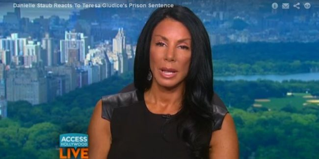 'Prostitution Whore' Danielle Staub Weighs in On Guidice Mess VIDEO