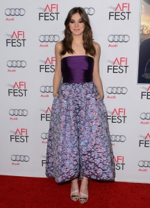 "Hailee Steinfeld - AFI FEST 2014 Presented By Audi ""The Homesman"" Premiere - Arrivals - Dolby Theatre - Hollywood, CA, USA  Photo is copyright by David Gabber / PRPhotos.com"