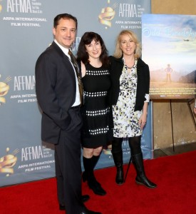 "John Alton, Cindy Baer and Leigh Forrest - 17th Annual Arpa International Film Festival - ""Odd Brodsky"" Screening - Arrivals - Egyptian Theatre  - Hollywood, CA, USA  Photo is copyright by Winston  Burris / PR Photos"
