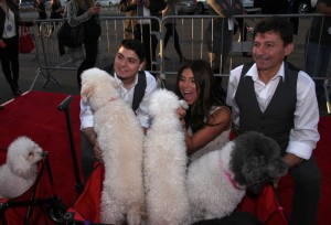 "Nicholas Olate, Roselyn Sanchez, Richard Olate and Olate Dogs - Fox's ""Cause for Paws: An All-Star Dog Spectacular"" - Arrivals and Inside - Barker Hanger - Santa Monica, CA, USA  Photo is copyright by Gisele Rebeiro / PR Photos"