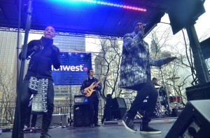 Nico and Vinz - 23rd Annual BMO Harris Bank Magnificent Mile Lights Festival - BMO Harris Bank Stage at Pioneer Court - Chicago, IL, USA  Photo is copyright by Daniel Locke / PR Photos