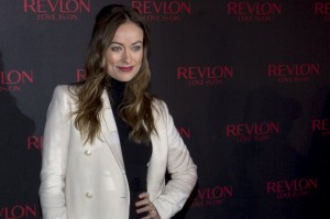 "Olivia Wilde - ""Love Is On"" Campaign Launch With Olivia Wilde in New York City on November 18, 2014 - Times Square - New York City, NY, USA  Photo is copyright by MJ Photos / PRPhotos.com"