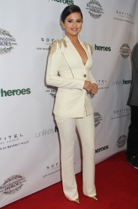 Selena Gomez - 3rd Annual Unlikely Heroes Awards Dinner and Gala to Benefit Child Victims of Sex Slavery - Arrivals - Sofitel Los Angeles at Beverly Hills Hotel - Los Angeles, CA, USA  Photo is copyright by Izumi Hasegawa / PRPhotos.com