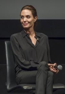 "Angelina Jolie - ""Unbroken"" New York City Screening - Inside - MoMA - New York City, NY, USA  Photo is copyright by MJ Photos / PRPhotos.com"