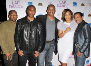 "Dennis White, Datari Turner, Greg Carter, LisaRaye McCoy and Obba Babatunde - ""Lap Dance"" Los Angeles Premiere - Arrivals - ArcLight Cinemas - Hollywood, CA, USA  Photo is copyright by Koi Sojer / PR Photos"