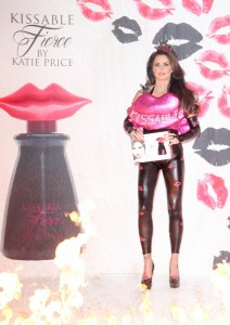 """Katie Price - """"Kissable Fierce by Katie Price"""" Fragrance Launch Photocall at The Worx in London on December 3, 2014 - The Worx, 10 Heathman's Road - London, UK  Photo is copyright by Landmark / PR Photos"""