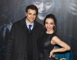 "Ralph Macchio and Julia Macchio - ""Into the Woods"" World Premiere - Arrivals - The Ziegfeld Theatre - New York City, NY, USA  Photo is copyright by Laurence Agron / PR Photos"