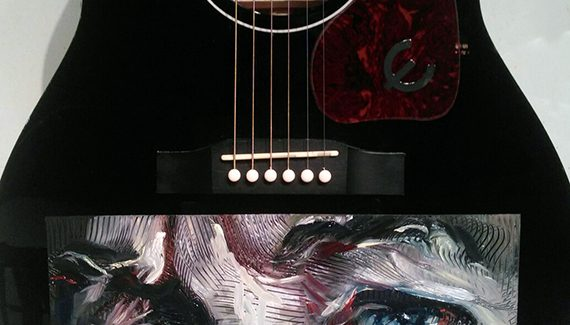 Caballero Signature Guitar Features Bob Dylan, Grammy 2015 MusiCares Person of the Year