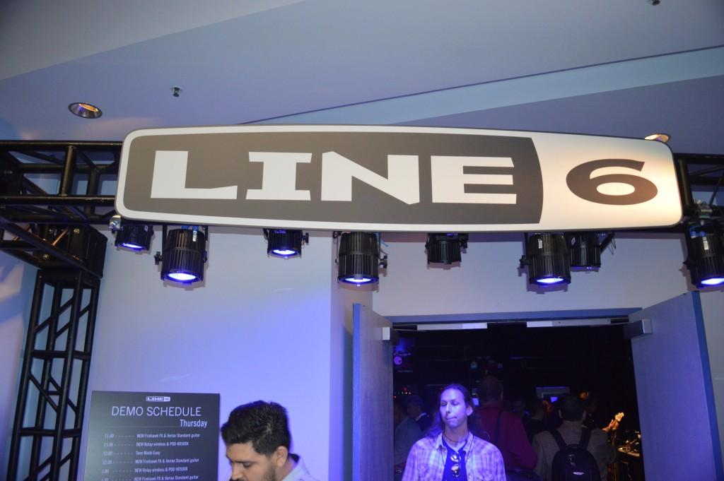 Line 6 sign