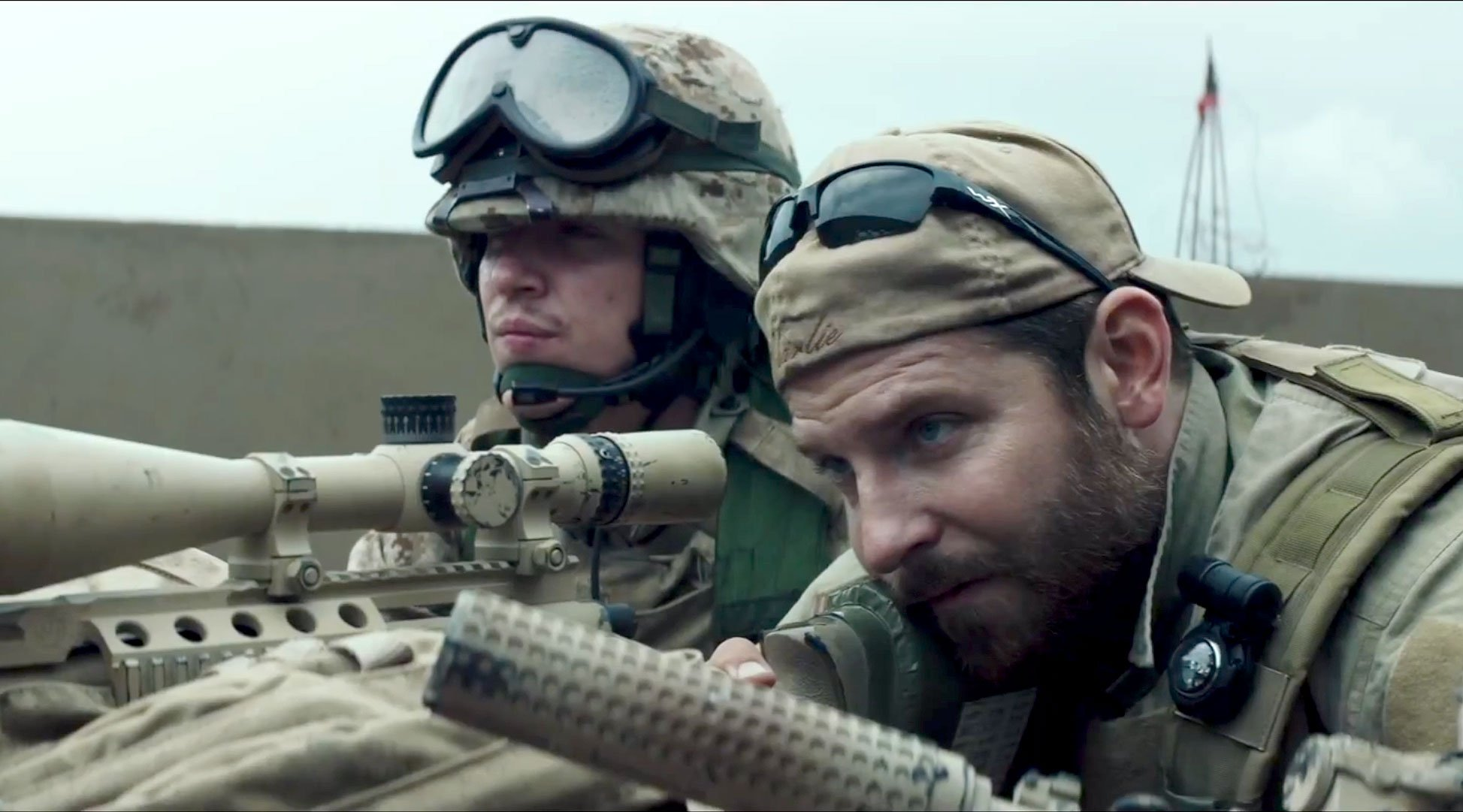 American Sniper is on course to become the biggest earning war movie of all time. Though audiences outside the US are less eager.