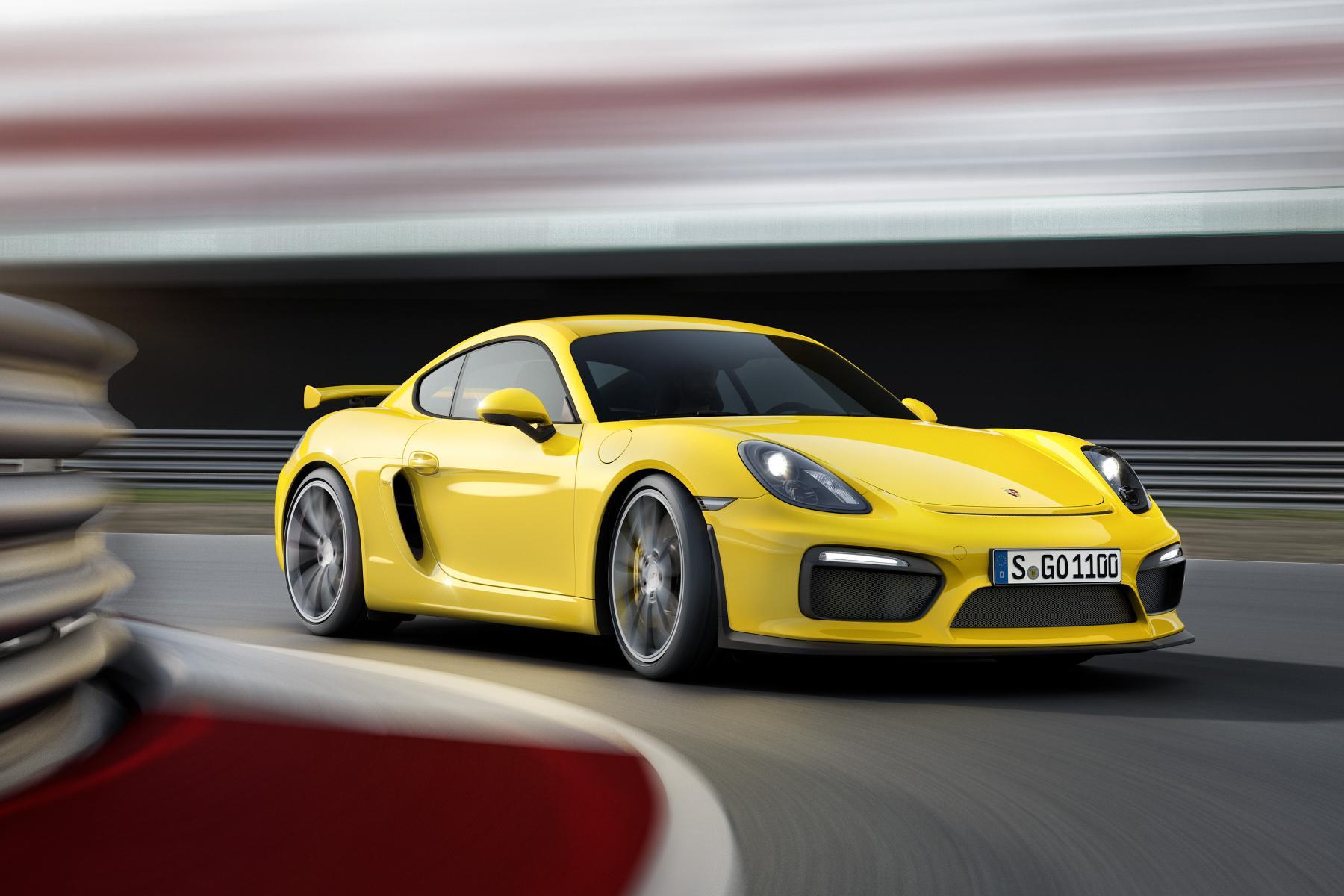Porsche Cayman GT4 Pictures