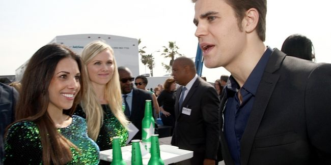 SANTA MONICA, CA - FEBRUARY 21: Actor Paul Wesley with Heineken during the 30th Annual Film Independent Spirit Awards at Santa Monica Beach on February 21, 2015 in Santa Monica, California. (Photo by Tommaso Boddi/Getty Images for Heineken)