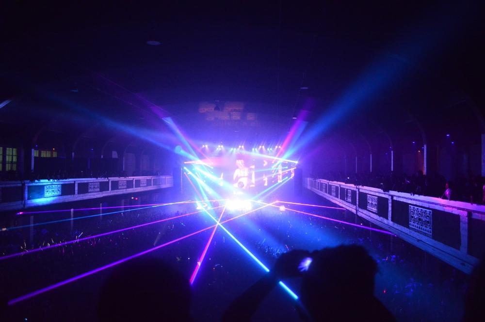 Borgore lasers