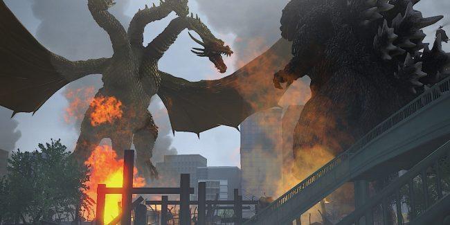 Godzilla PS3 and PS4 More Screens