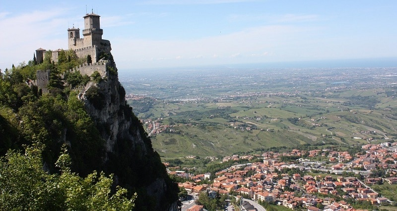 The Three Towers in San Marino