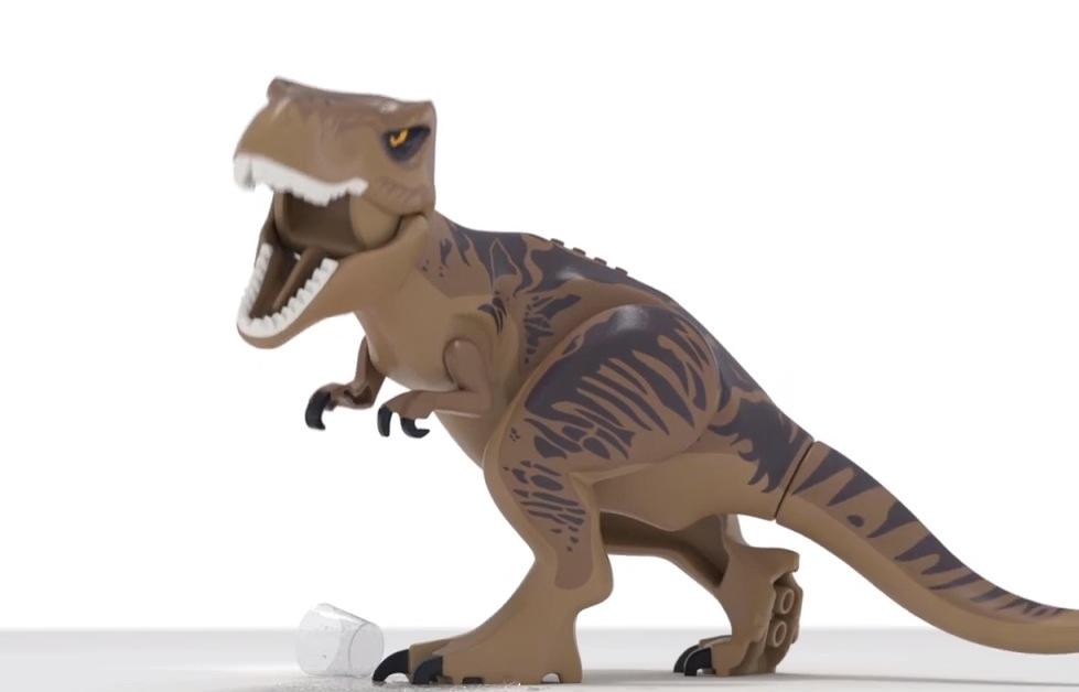 The Jurassic Park franchise is going plastic