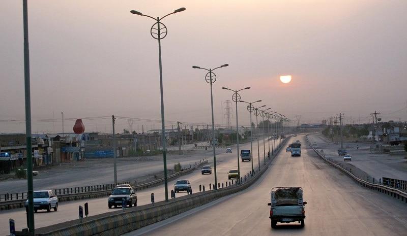 Sunrise over Ahvaz