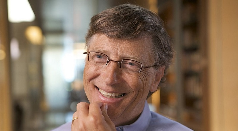Bill Gates in conversation