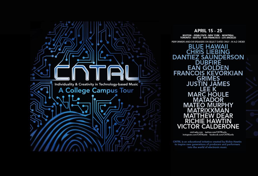CNTRL15 Banner31 - Richie Hawtin Proudly Presents for 2015: CNTRL Tour