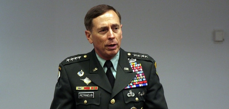 Former Commander of US Forces in Afghanistan, General David Petraeus