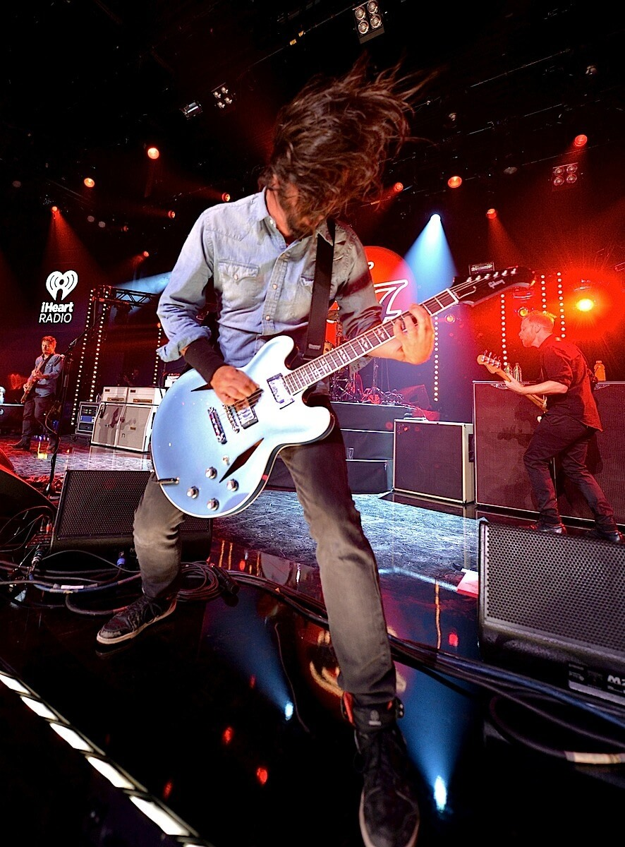 Foo Fighters Live On The Honda Stage At IHeartRadio Pictures