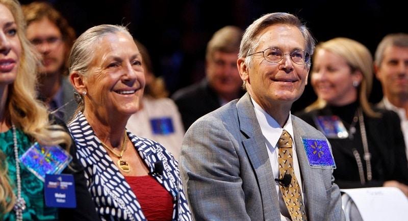 Jim Walton and his sister Alice