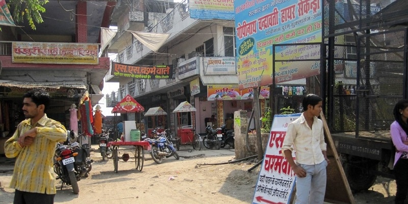 View of Kanpur city street