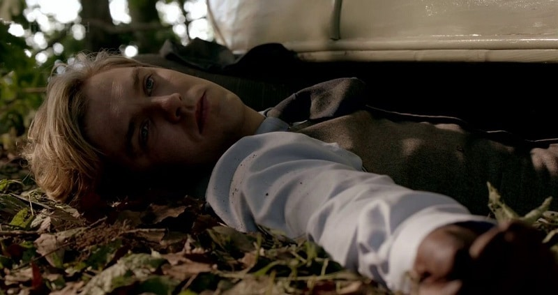 Matthew Crawley crushed under his car