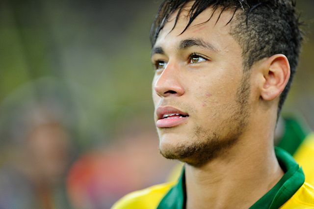 Neymar, one of the best soccer players in the world