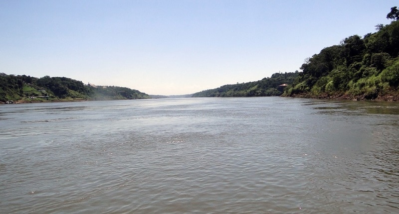 View of the Parana River