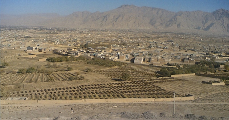 Panoramic view of Quetta