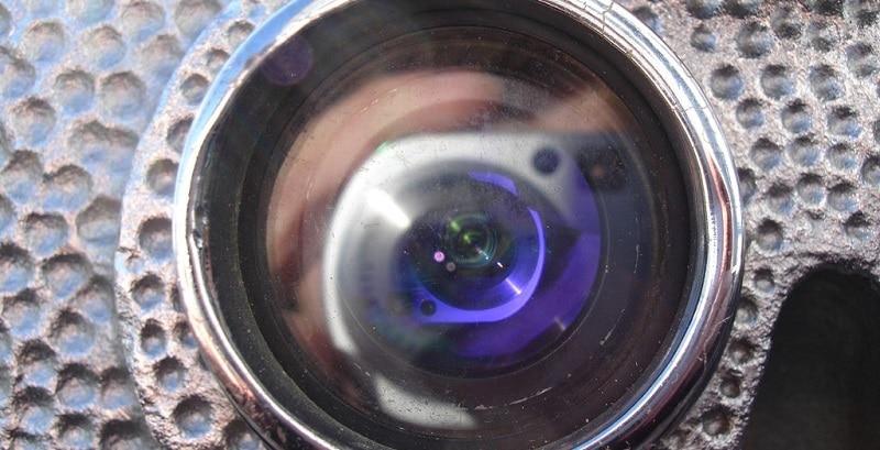 A hidden camera