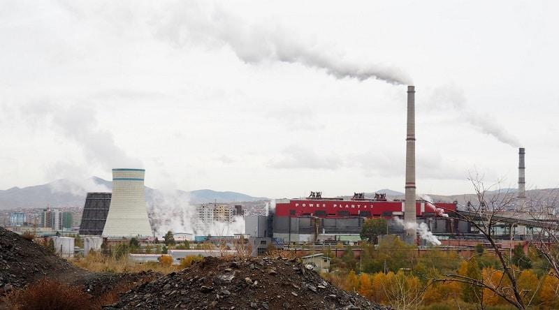 Pollution in Ulaanbaatar