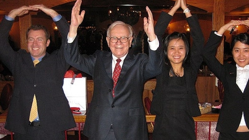 Warren Buffet, one of the richest people on the planet