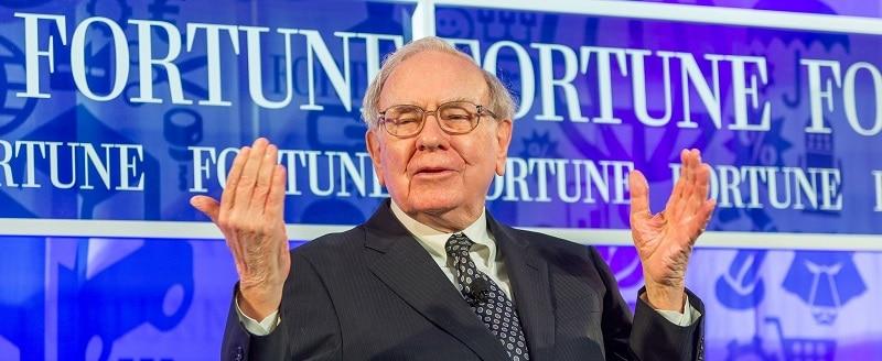 Warren Buffett at an event