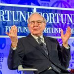 Warren Buffett at an event