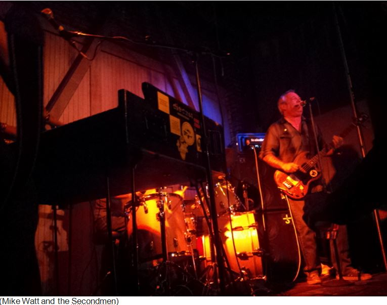 ant2 - Review: Mike Watt and the Secondmen At Harvard and Stone, Hollywood
