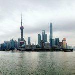 Panoramic view of Shanghai