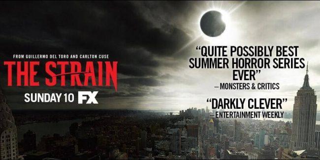 FX 'The Strain' Season One Premium Blu-ray Arrives June 9!