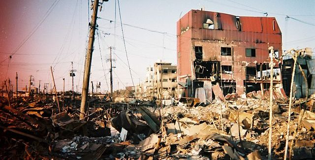 The Kobe earthquake, one of the worst natural disasters to date