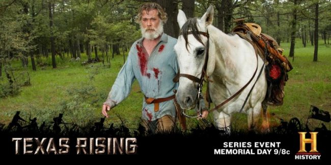 """""""Avenging The Alamo: The Road To Texas Rising"""" With Ray Liotta, May 18"""