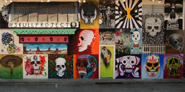 Muralism Macabre: The Skull Project In Los Angeles