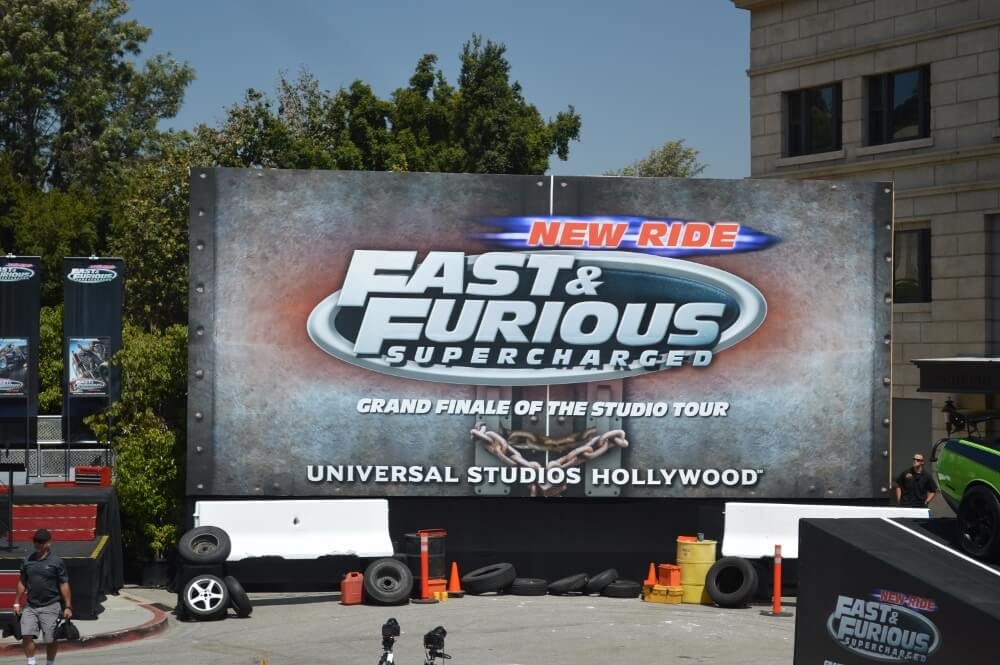 Fast & Furious Supercharged sign