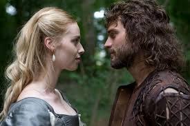 Freya Mavor and Jamie Dornan