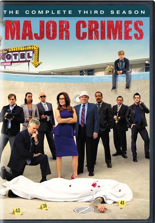 Major Crimes returns to DVD for another great season of murder and laughs.