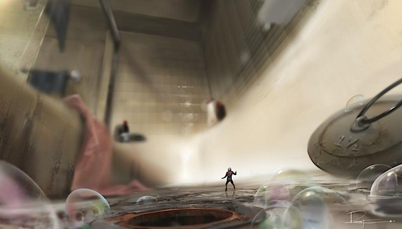 Ant-Man stills and artwork