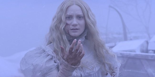 Character posters and stills from Crimson Peak