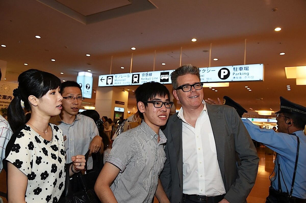 TOKYO, JAPAN - JULY 31: Christopher McQuarrie arrives in support of the 'Mission: Impossible - Rogue Nation' World Press Tour at Haneda Airport on July 31, 2015 in Tokyo, Japan. (Photo by Jun Sato/Getty Images for Paramount Pictures International) *** Local Caption *** Christopher McQuarrie